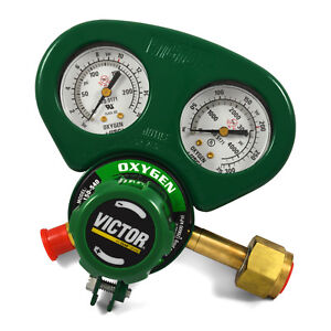 Victor Medium Duty Oxygen Regulator W Metal Gauge Guard G250 150 540 1429 0068