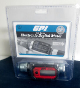 Gpi 01a31gm Electronic Digital Fuel Meter New