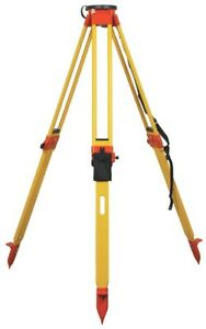 Seco Birchwood Dual Lock Clamp Round Head Tripod For Total Stations Surveying