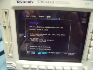 Tektronix Tds 544a Color Screen 4 Channel 500mhz 1gs s Digital Oscilloscope T13