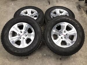 1999 2017 Gmc Sierra Yukon 18 Oem Factory Wheels And Tires Goodyear Take Offs