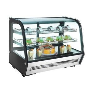 New Commercial Countertop Refrigerated Display Case Merchandiser 35