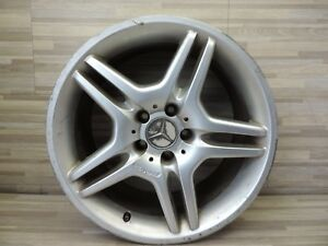 Oem Mercedes 03 06 W211 E55 Amg Alloy Wheel Rim 21140126702 232