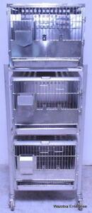 Shor line Kc mo Shor Ledge Stainless Steel Animal Cage