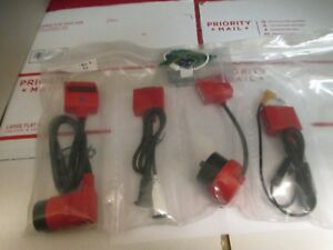 New Snap on Scanner European Cable Adapter Set With Keys Verus Modis Solus Euro