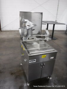 Belshaw Adamatic 718 Gas 18 X 26 Donut Fryer With Dough Depositor Year 2016
