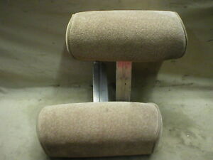 Mustang Headrests Head Rests Seats Interior Short 94 95 1994 1995 Tan Saddle Mpx