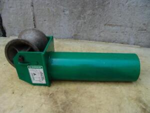 Greenlee 441 5 Cable Tugger Puller Feeding Sheave 3 Mint Condition