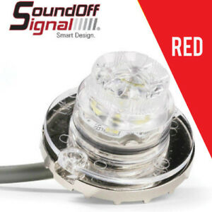 Soundoff Signal Undercover Hideaway Led Insert Strobe Light Red