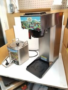 Newco Ak ap Pourover Coffee Brewer 4 Gal Stainless Steel W Extra Dispenser