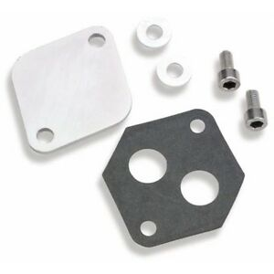 Holley 112 560 Iac Block off Plate For Ford Throttle Bodies