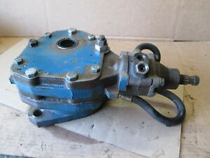 Ford 6000 Tractor Front Pedestal Power Steering Gear Motor