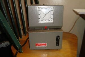Vintage Lathem 2121 Time Clock