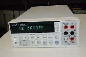 Hp Agilent 34401a 6 1 2 Digit Multimeter Needs A New Display