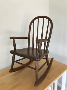 Bentwood Antique Child S Rocking Chair