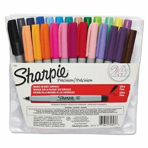 Sharpie Permanent Markers Ultra Fine Point Assorted Colors 24pk best Price
