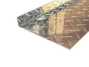 Aluminum Diamond Plate Angle 062 X 1 X 6 X 48 In Inside Reverse 3003 2pcs