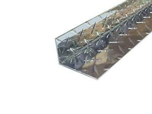 Aluminum Diamond Plate Angle 062 X 1 5 X 2 5 X 48 In Inside Reverse 3003 2pcs