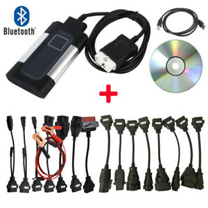 Bluetooth Tcs Cdp Pro Plus For Autocom Obd2 Diagnostic Scan 8x Car truck Cable