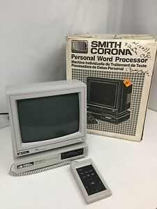 Vintage Smith Corona Model Pwp 14 Word Processor Computer In Original Box