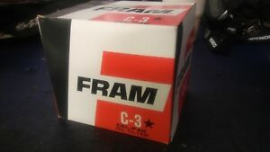 Vintage Nos Fram Oil Filter C3 Ac Allis Case Fomoco Massey Mercedes C 3