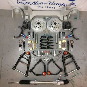 1964 1970 Ford Mustang Ii 2 Front End Suspension Ifs 2 Drop Spindle 5x4 5