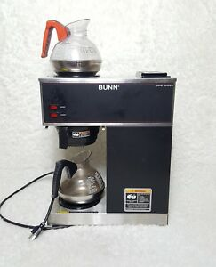Bunn Vrp Series Commercial Resturant Coffee Maker Coffee Maker Brewer 2 Warmer