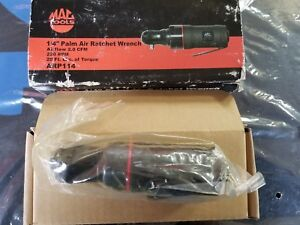 Mac Tools Arp114 1 4 Palm Air Ratchet 20 Ft Lbs Torque