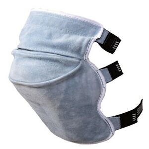 Smato Welding Knee Soft Pads Heat Resistant Leather Welder Protect Safety Work