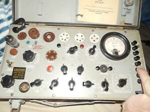 Excellent Accurate Military Tv7d u Tube Tester 518