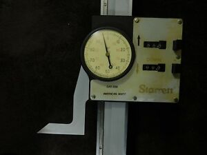 Starrett 259 24 digital Dial Height Gage