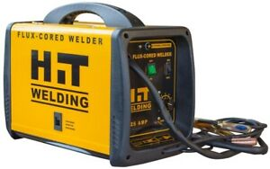Hit Welding 120v Electric Compact Flux Cored Wire feed Welder Thermal Protection