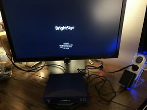 Brightsign Xd232 Digital Signage Player W hdmi Vga 3 5mm Outputs xd2