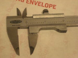 Vintage Mitutoyo Vernier Caliper Ruler Goes To 7 Inches No Case