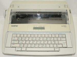 Brother Ml300 Eletronic Display Typewriter Tested Working 30 Day Warranty