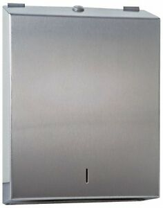 Made In Usa Paper Towel Dispenser Manual Type Stainless Steel C multi fold