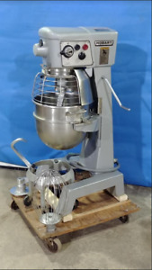Beautiful Bowl Guard Hobart D300 3 Phase Planetary Mixer With Ss Bowl Attachmen