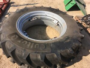 Unused 460 85r38 Cultor By Mitas 18 4r38 Radial Tractor Tire Shipping Available