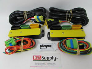 Genuine Meyer Snow Plow Change Over Light Module Kit W Wiring 07548 07347