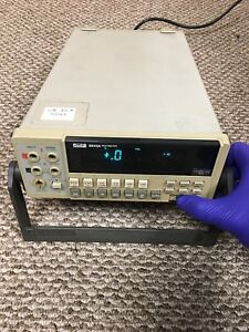 Used Fluke 8840a 5 5 Digit Bench Multimeter Works But Has Power Button Issue