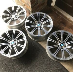 19 Factory Bmw Style 220 Rims Wheels Genuine Forged Bmw M3 2008 2013 Staggered