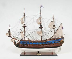 Goto Predestination Tall Ship Large 37 Wood Model Boat Assembled