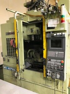 Used 2004 Okuma Cnc Vertical Machining Center 5 Axis Mill Thru Spindle Osp P100