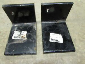 2 N o s Meyer Snow Plow Bumper Extension Angle Part 10948