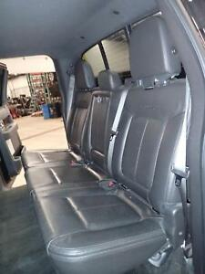 09 10 11 12 13 14 Ford F150 Left Rear Seat Leather Heated Platinum 60 Black 9b