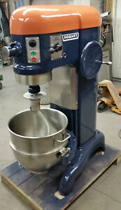 Hobart 60 Qt Mixer With Bowl Paddle Dough Hook Whip 220 Volt Single Phase