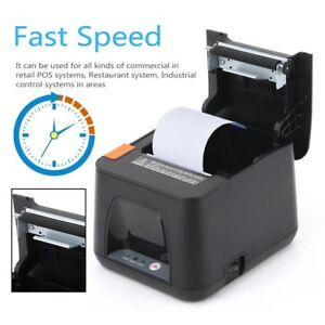 Esc pos Thermal Usb Dot Wired Receipt Printer 80mm 300mm s Auto Cutter Android