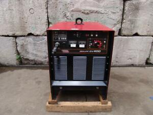 Lincoln Idealarc Cv 400 Welder Works Fine Very Late Model Mint Condition 4