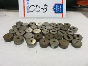 Punch Die Oval slot Roper Whitney Diacro Dies Only Punch Press