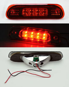 All Red Rear 3rd Third Led Brake Light For Jeep Grand Cherokee 1999 2004